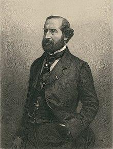 Émile Augier, Portrait par Alphonse Charles Masson