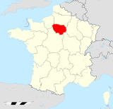 Île-de-France region locator map.svg