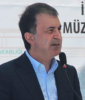 Ömer Çelik - Image: Ömer Çelik in Izmir 19 May 2015 (cropped)
