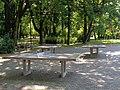 Łódź-ping-pong tables in Źródliska Park.jpg