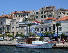 Il porto di Sebenico
