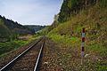 Železniční trať u lomu, Domašov nad Bystřicí, okres Olomouc.jpg