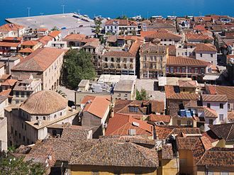 Culture of Greece - Traditional style houses in Nafplio
