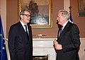 Συνάντηση ΥΠΕΞ Δ. Αβραμόπουλου με τον Ειδικό Σύμβουλο του Γ.Γ. ΟΗΕ Α. Downer (8679927879).jpg