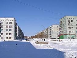 Вуктыл. Коммунистическая улица. - panoramio.jpg