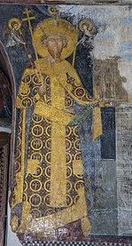 Деспот Стефан - фреска у природној величини