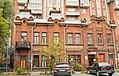 Дом, где жил писатель Сорокин А.М. Бывали многие сибирские писатели , ул. Лермонтова 28, Омск.jpg