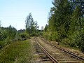 Злучальны пуць паміж асноўным паркам станцыі і раз'ездам Пугачова - panoramio.jpg