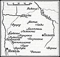 Карта к статье «Дорбяны». Военная энциклопедия Сытина (Санкт-Петербург, 1911-1915).jpg