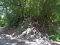 Остатки крепостного вала крепости Никопсия (Дузу Кале), V-VII вв. н.э..JPG