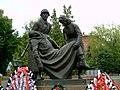 Памятник советским воинам, фрагмент, Клин, Московская область.jpg