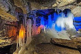 ледяная кунгурская пещера картинки