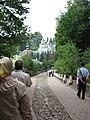 Псково-Печерский монастырь, дорожка игумена Корнилия.jpg