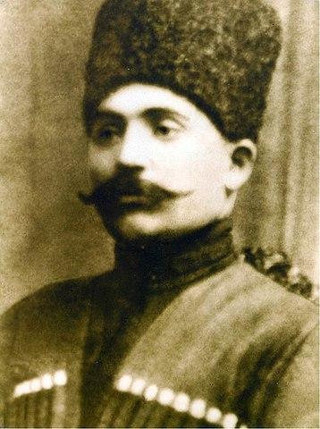 Саад Гуцериев, пристав Западной Грузии и Сухуми, 1908г.
