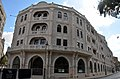 מלון פאלאס - מבט מחזית הבנין עם סיום השיפוץ והפיכתו למלון וולדורף אסטוריה.JPG