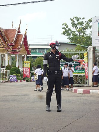Royal Thai Police - Thai Traffic Police, Surin