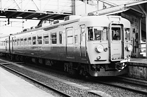 Tōkai (train) - Image: クハ153-0番台(クハ153-76)