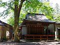 穴澤天神社の神楽殿 稲城市にて 2013.5.17 - panoramio.jpg