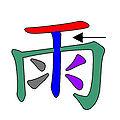 雨 倉頡字形特徵.jpg