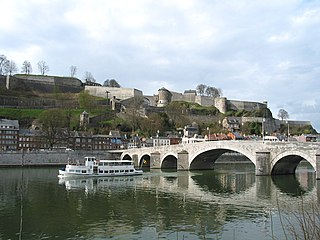 Namur Municipality in French Community, Belgium
