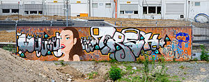 03-05-2014 - Graffiti near European Central Bank - EZB - Frankfurt Main - Germany - 10.jpg