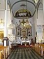03 Gródek, Kościół pw. św. Anny (1840-46 r.) wnętrze kościoła - ołtarz główny. Gmina Jarczów powiat tomaszowski..JPG