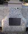 047 En memòria de Sònia, glorieta del parc de la Ciutadella.JPG