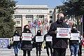 06 Protesters in Geneva demand the release of Armenian POWs, 15 April 2021.jpg