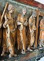07950 Jacques le mineur et bâton de foulon Simon et scie Philippe et croix.jpg