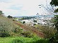 084 Les accès à Brest depuis le sud-est vus de la rue du brigadier Le Cann.JPG