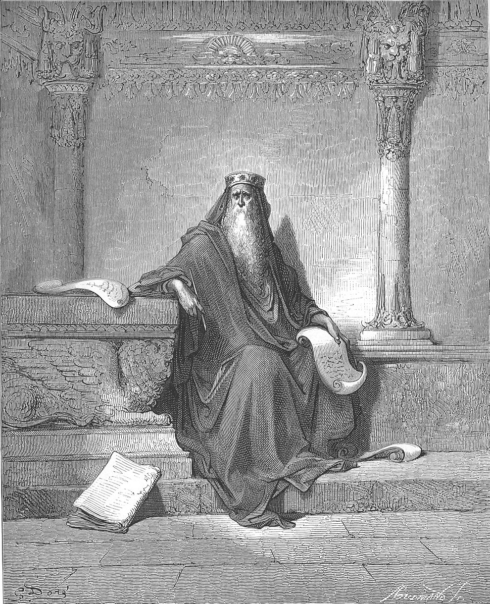 087.King Solomon in Old Age