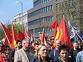 1. Mai 2013 in Hannover. Gute Arbeit. Sichere Rente. Soziales Europa. Umzug vom Freizeitheim Linden zum Klagesmarkt. Menschen und Aktivitäten (179).jpg
