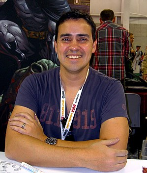 Tony Daniel - Daniel at the New York Comic Con,  October 2012