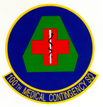 100 Medical Contingency Sq emblem.png