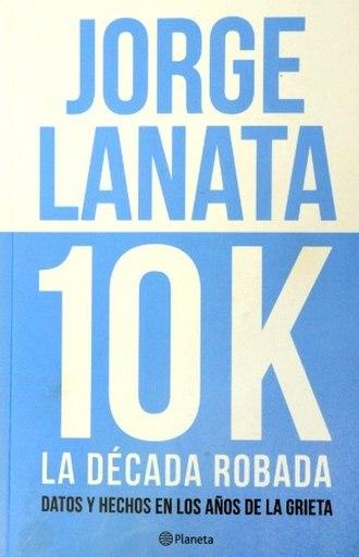 10K, la década robada - Book cover