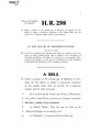 116th United States Congress H. R. 0000298 (1st session) - Balanced Budget Accountability Act.pdf