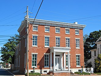 National Register of Historic Places listings in Kent County, Delaware - Image: 119 N Walnut Milford DE