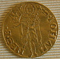 1462 secondo semestre, fiorino d'oroXXVII serie, stemma ridolfi.JPG