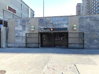 Harlem–148th Street (IRT Lenox Avenue Line) - Entrance to Harlem–148th Street