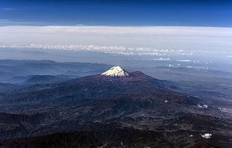 Pico de Orizaba - Aerial view of Pico de Orizaba