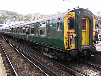 British Rail Class 411 - Image: 1592 at Dover Priory