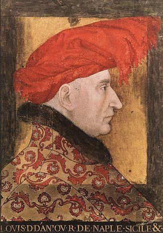 Louis II of Naples - Image: 15th century unknown painters Louis II of Anjou WGA23561