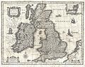 1631 Blaeu Map of the British Isles (England, Scotland, Ireland) - Geographicus - BritanniaeHiberniae-blaeu-1631.jpg