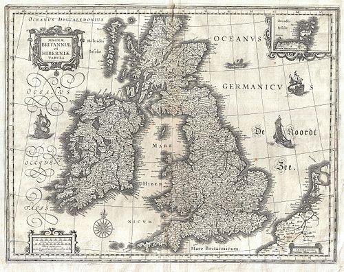 kart atlanterhavet 3d
