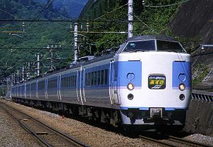 183 series - A 183 series displaying on an Azusa service, May 2001