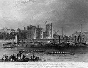 The Boat Race 1841 - The Boat Race of 1841