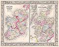 1864 Mitchell Map of Ireland and Scotland - Geographicus - IrelandScotland-mitchell-1864.jpg