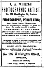 1868 Whipple Photographer BostonDirectory.png