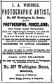 1868 Whipple Photographer BostonDirectory.png