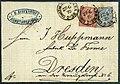 1870 3gr NDPB Constantinopel Dresden MiV16&17.jpg